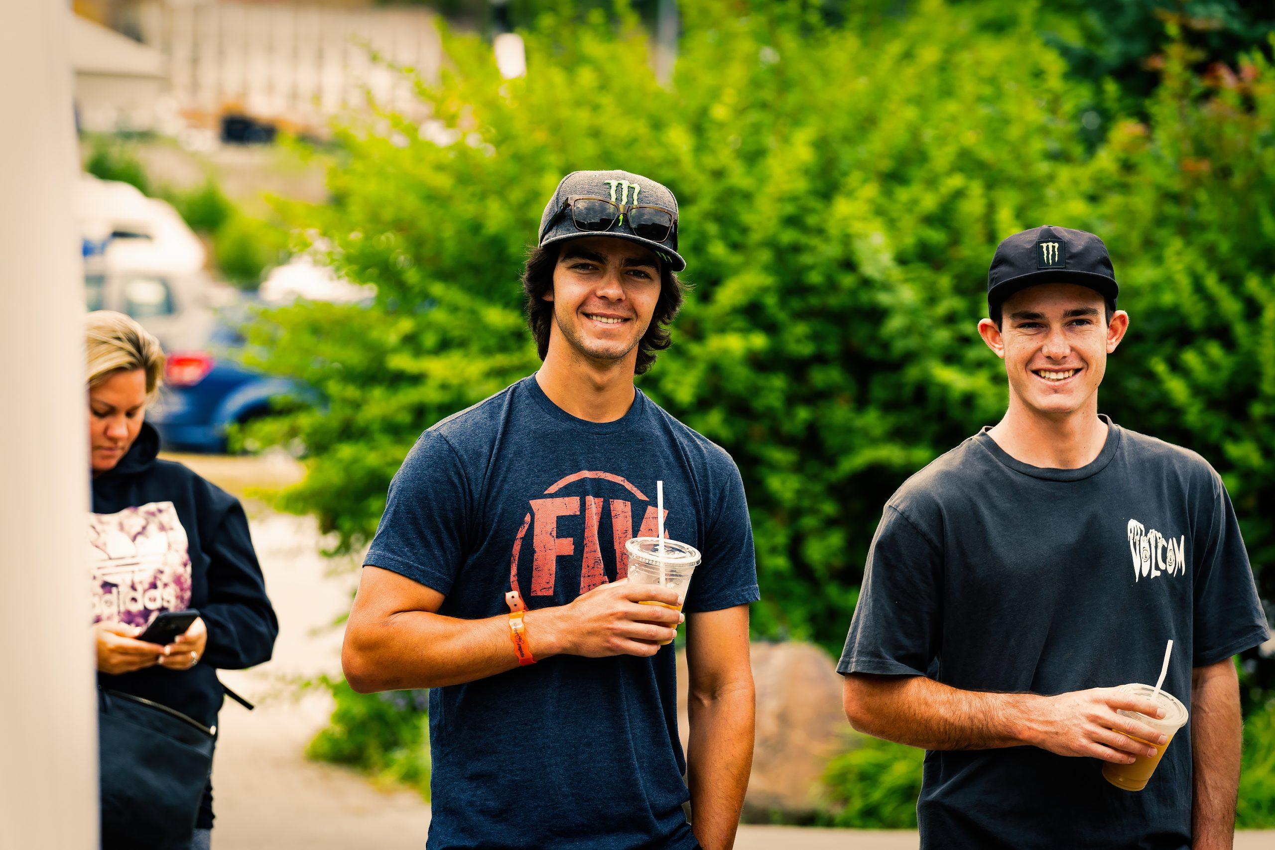 KHS Pro MTB: Steven Walton and Nik Nestoroff